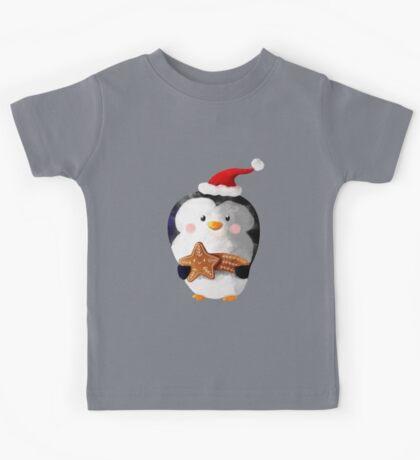 Cute Christmas Penguin Kids Clothes
