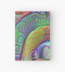 #DeepDream abstraction Hardcover Journal