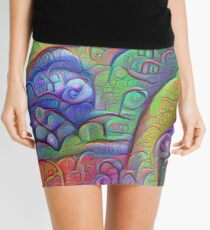 #DeepDream abstraction Mini Skirt