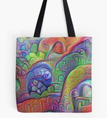 #DeepDream abstraction Tote Bag