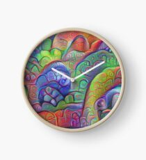 #DeepDream abstraction Clock