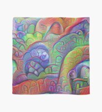 #DeepDream abstraction Scarf
