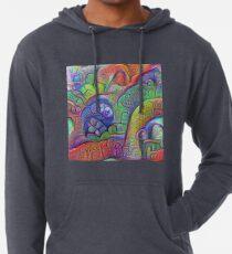 #DeepDream abstraction Lightweight Hoodie