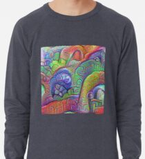 #DeepDream abstraction Lightweight Sweatshirt