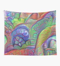 #DeepDream abstraction Wall Tapestry