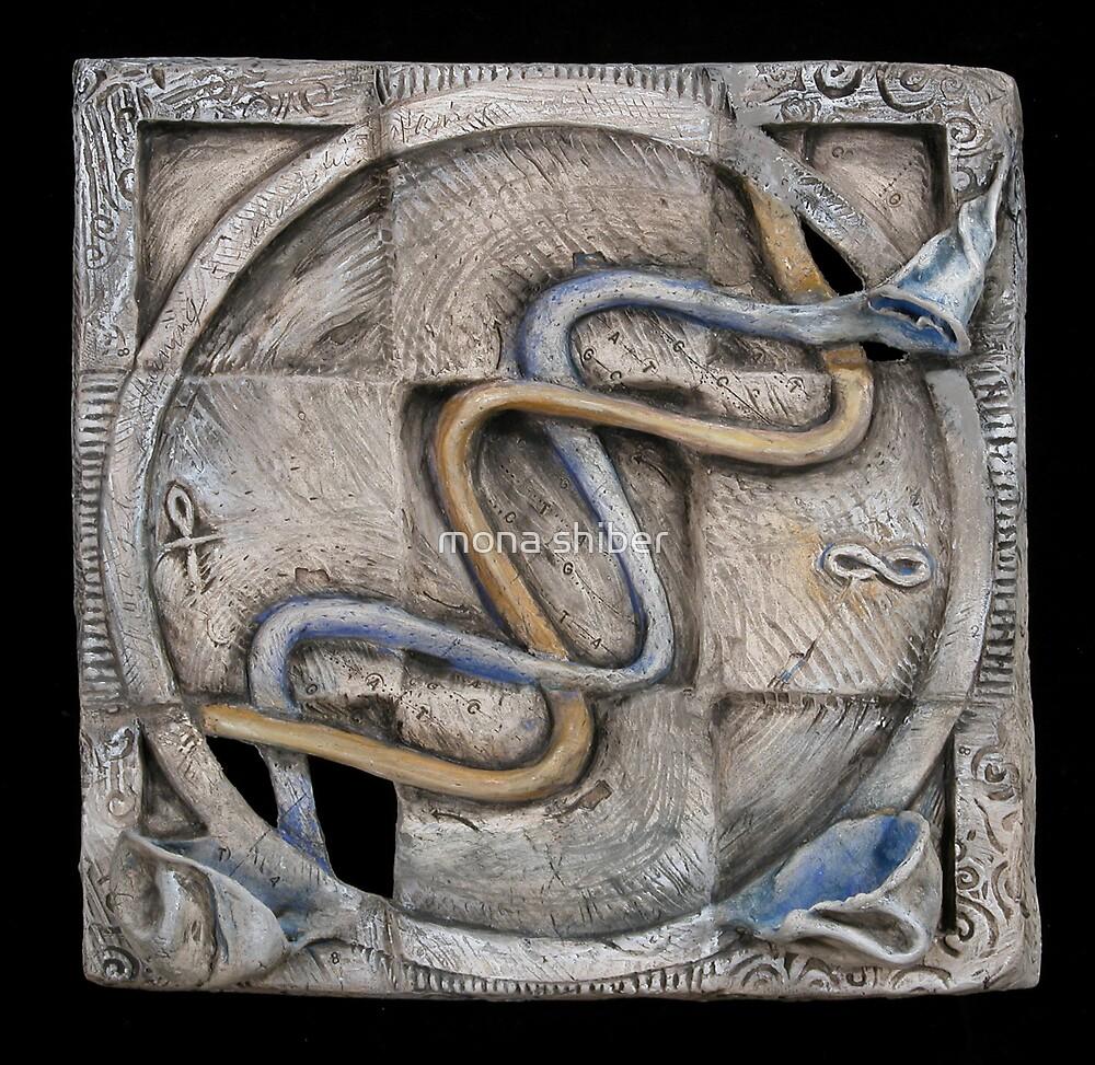 Spiral 2: evolving current by Mona Shiber
