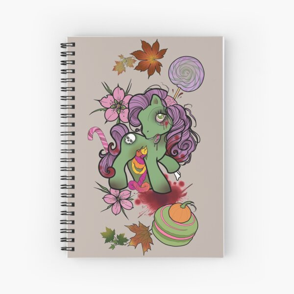 Gumdrop Guts! My Little Zombie Spiral Notebook