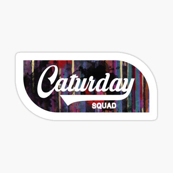 Caturday Squad Sticker