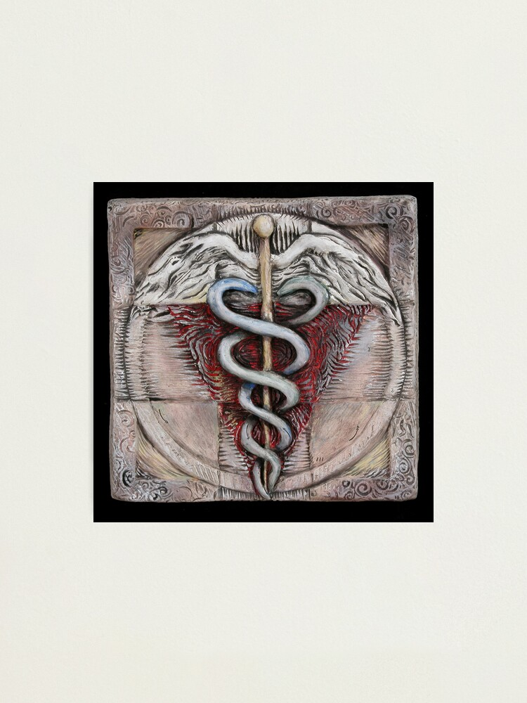 Alternate view of Spiral three: caduceus  Photographic Print