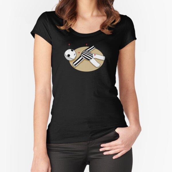 Wer Dat Voodoo Schiedsrichter - New Orleans Saints Tailliertes Rundhals-Shirt