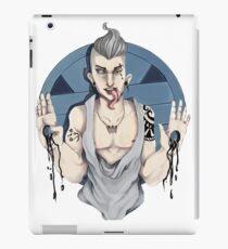 Punk rock tongue  iPad Case/Skin