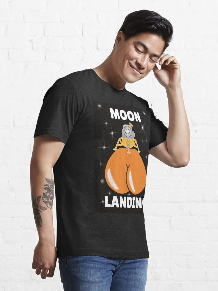 Alternate view of Moon Landing Essential T-Shirt