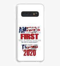 AMERICA FIRST Trump 2020 Case/Skin for Samsung Galaxy