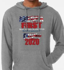 AMERICA FIRST Trump 2020 Lightweight Hoodie