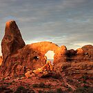 Sun-Touch on Turret Arch by Clayhaus