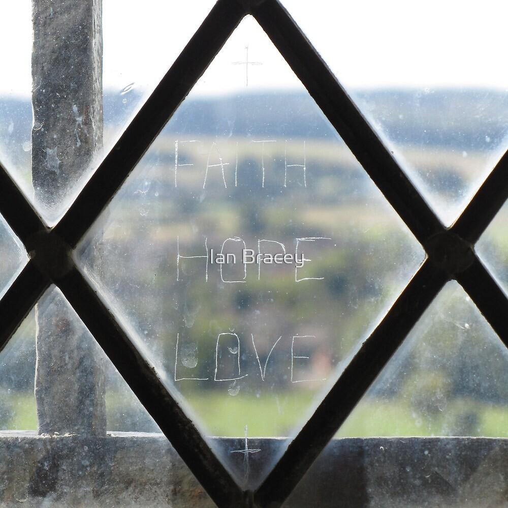 Writing on the Glass, Salisbury by Ian Bracey
