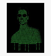 Neo Matrix Photographic Print