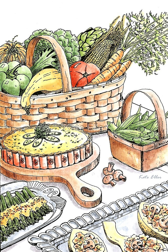 Vegetable Medley by Kate Eller