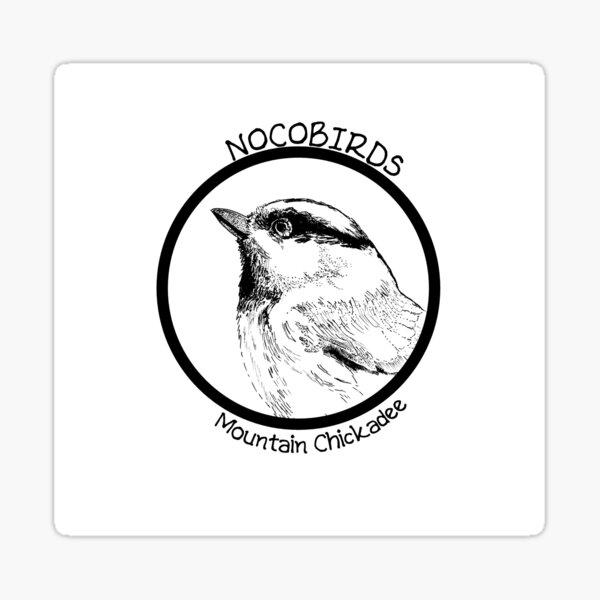 Mountain Chickadee Sticker