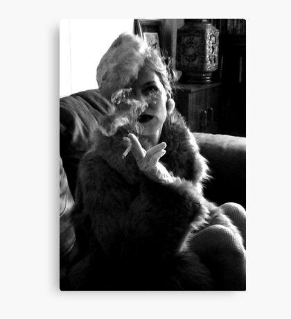 Furs and Cigarettes (ltd ed) Canvas Print