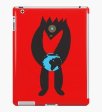 Monster Loves Earth in Red iPad Case/Skin