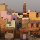 townscape at dusk by handheld-films