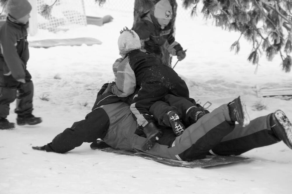 Snow Fun by AmyKippernes