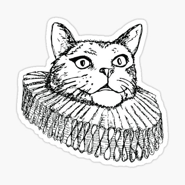 Catspeare Sticker
