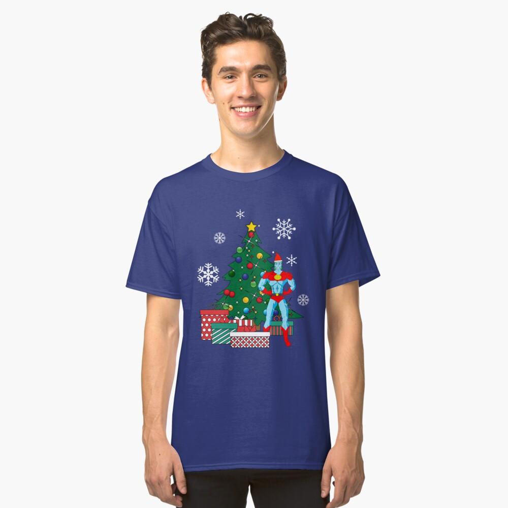 Big Christmas Tree Santa Clause Holiday Ho Ho Ho Men/'s Tank Top T-shirt