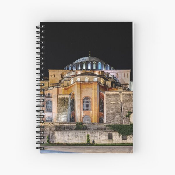Hagia Sophia 01 Spiral Notebook