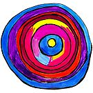 Colorful Circle by Toni G. by CreativeClayArt