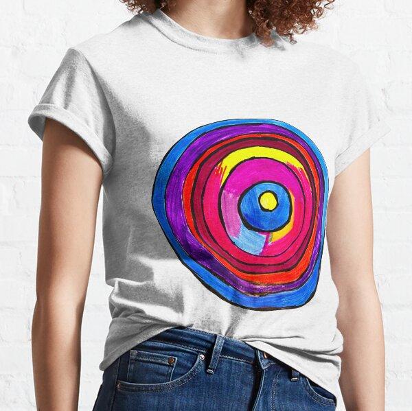 Colorful Circle by Toni G. Classic T-Shirt