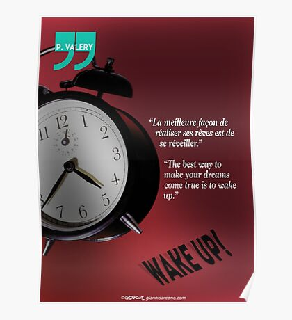 Wake Up! (quotation) Poster