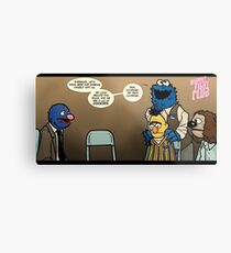 Remaining Muppets Together Metal Print