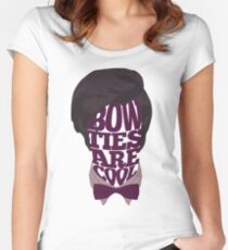 Bow Ties Are Cool Women's Fitted Scoop T-Shirt