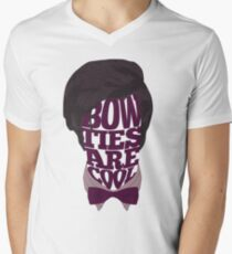 Bow Ties Are Cool Men's V-Neck T-Shirt