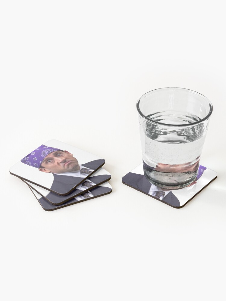 Alternate view of Prison Mike Coasters (Set of 4)