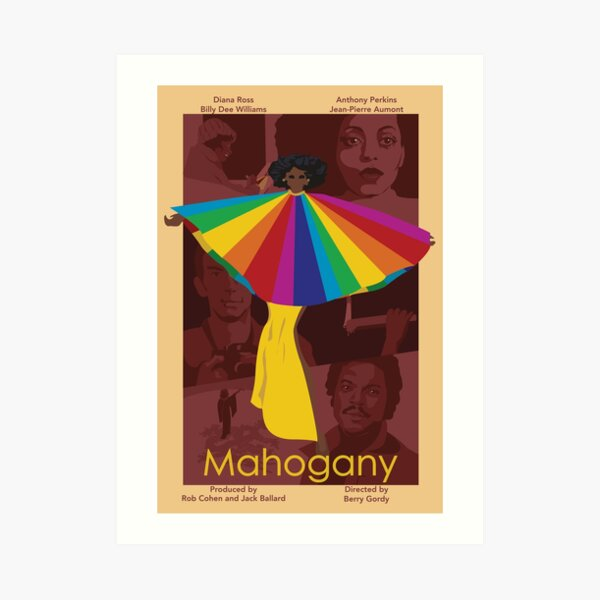 Mahogany (1975) Movie Poster Art Print