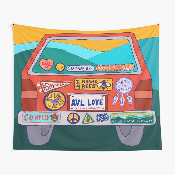 Bumper Sticker Tapestry