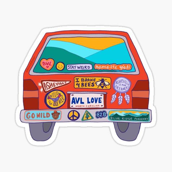 car decal Blah blah blah laptop sticker trackpad sticker door fridge sticker bad attitude car rear window decal car bumper sticker