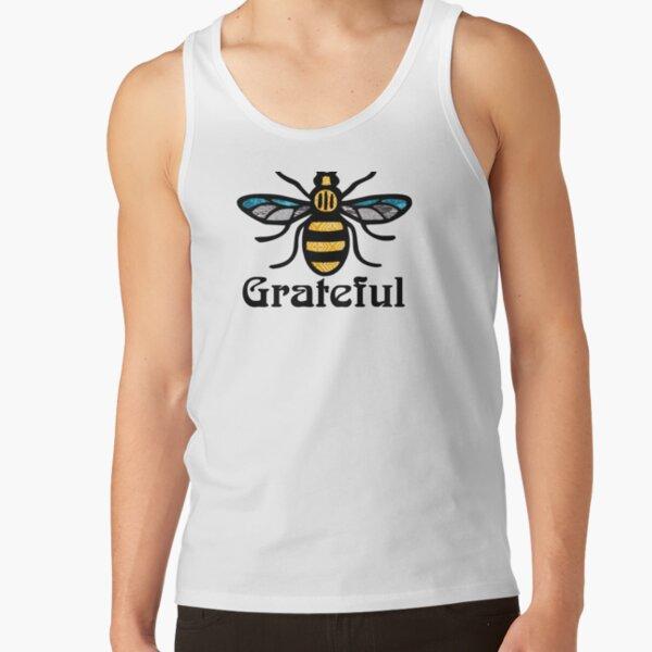Bee Grateful Manchester Bee Design  Tank Top