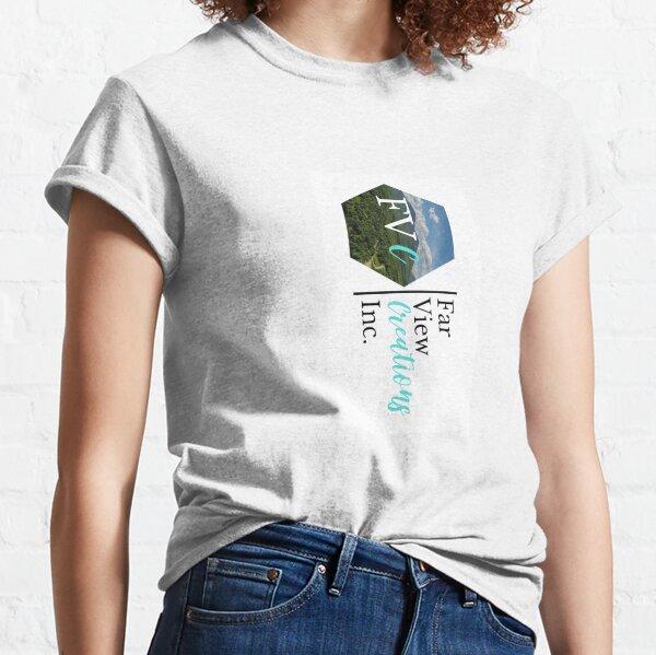Far View Creations Inc. Logo - Large Horizontal Classic T-Shirt