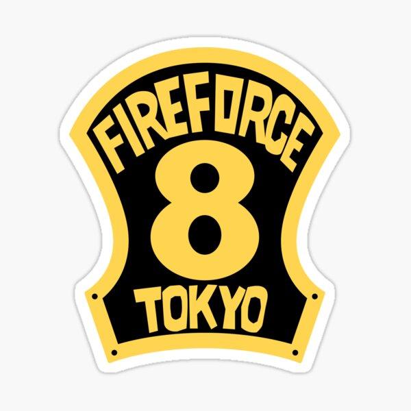 Brigade of Flames Sticker