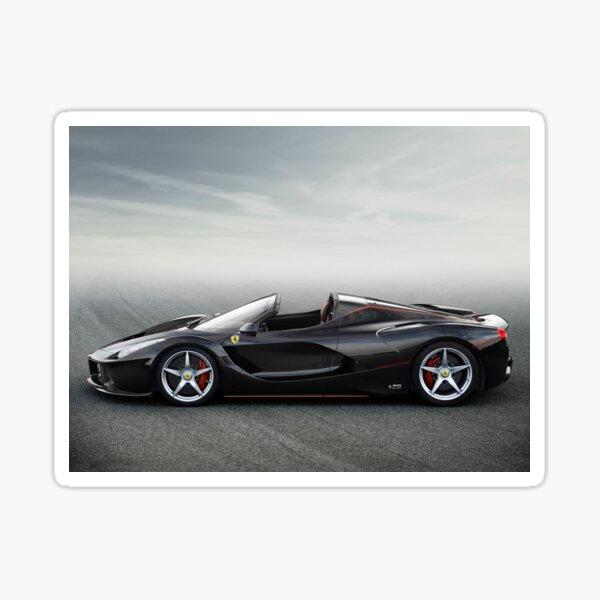 Ferrari LaFerrari Aperta convertible Sticker