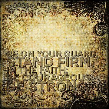 1 Corinthians 16:13 by dallasd