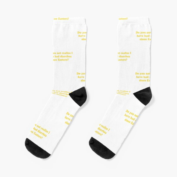 Men /& Women Athletic High Crew Socks abstract Crown Yellow Brown Blue Blot Wicking Casual Socks