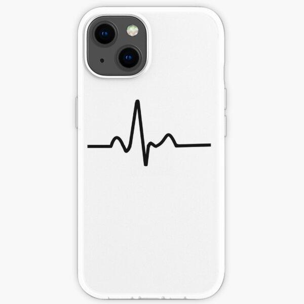 ECG Trace iPhone Soft Case