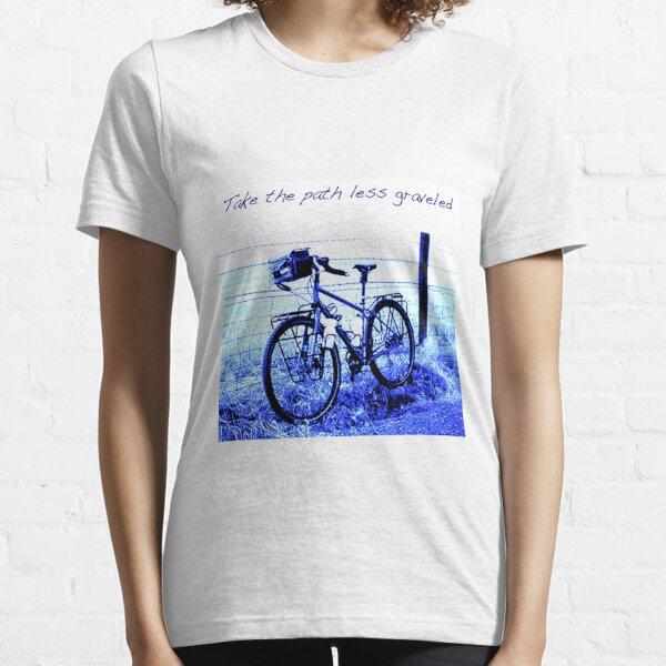 Take the path less graveled Essential T-Shirt