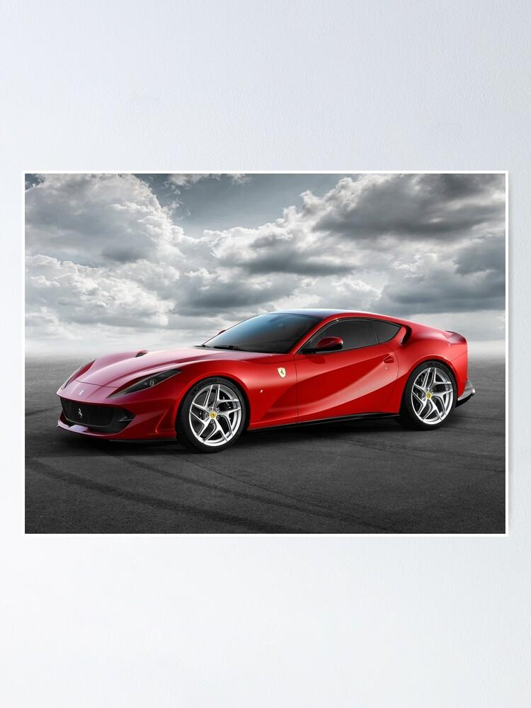Alternate view of Ferrari 812 Superfast  Poster