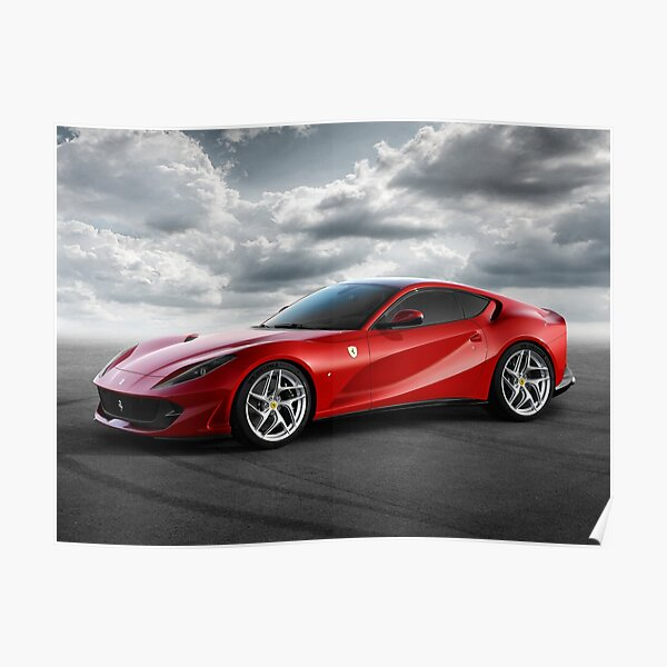 Ferrari 812 Superfast  Poster